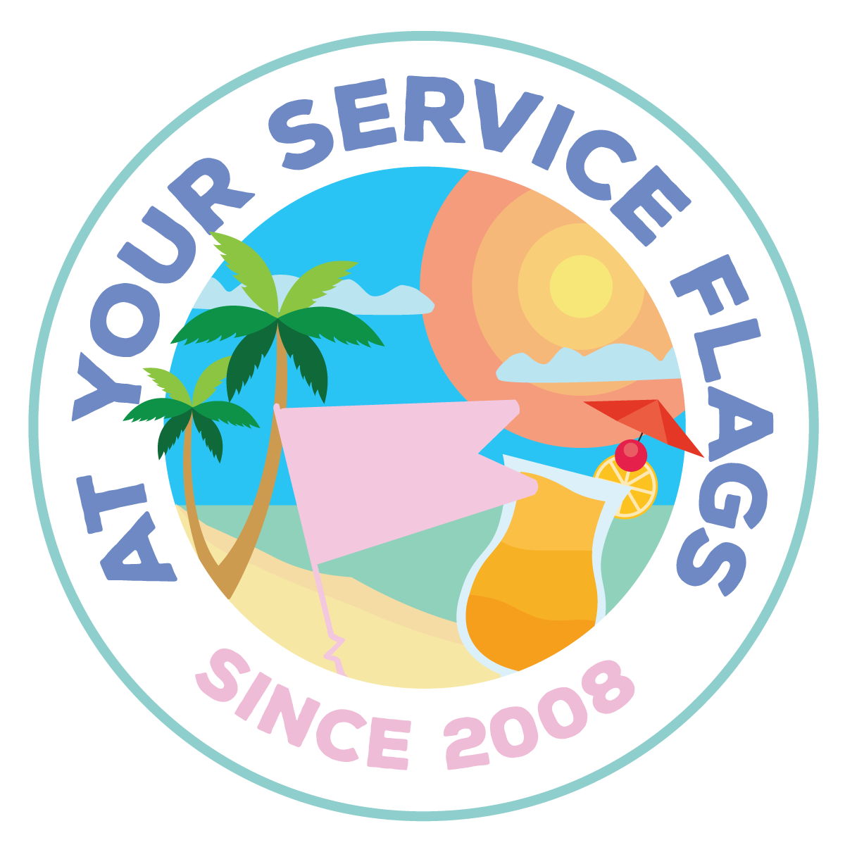 At Your Service Flags